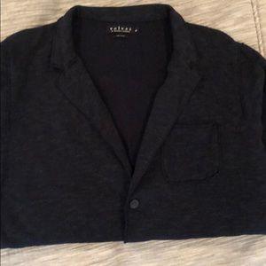 Velvet By Graham and Spencer cotton blazer